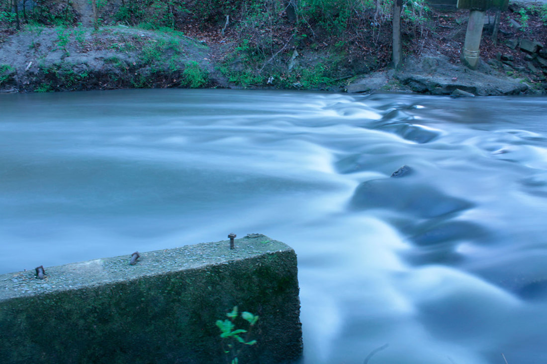 Stream on a Glum Afternoon | DSLR, long exposure